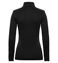 Toni Sailer Lucinda Swarosvki Ski-Langarmshirt für Damen, Black/Bright White