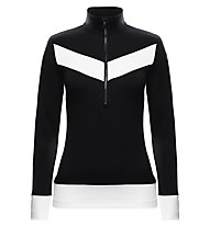 Toni Sailer Maglia sci Mollie, Black/Bright White