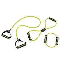 Toorx Elastic tool set - attrezzo fitness, Black