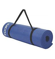 Toorx Fitness Matt with Cary Handle - materassino fitness, Blue