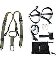 Toorx Functional Suspension Trainer Pro - set allenamento in sospensione, Black/Green