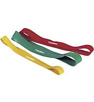 Toorx Loop Latex Bands - Gymnastikbänder, Red