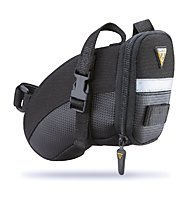 Topeak Aero Wedge Pack Strap Small - Borsa sottosella, Black
