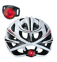 Topeak Tail Lux - luce per casco bici, Black/Red