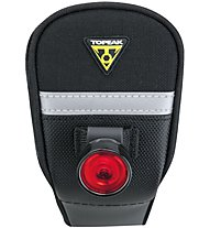 Topeak Tail Lux - Rücklicht Fahrrad, Black/Red