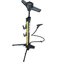 Topeak Transformer XX - pompa da pavimento, Black/Yellow