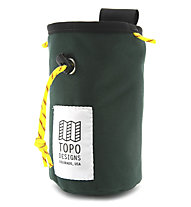 TOPO DESIGNS Chalk Bag - porta magnesite, Green/Black