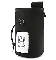 TOPO DESIGNS Chalk Bag - porta magnesite, Black/Black