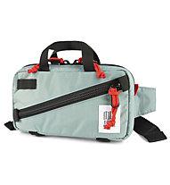 Topo Designs Mini Quick Pack - Hüfttasche, Grey/Red