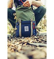 Topo Designs Rover Pack - Rucksack, Green/Blue