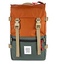 Topo Designs Rover Pack - Rucksack, Brown/Green