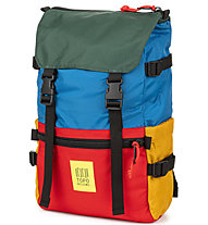 Topo Designs Rover Pack - Rucksack, Blue/Red