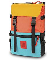 Topo Designs Rover Pack - Rucksack, Red/Light Blue