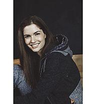 Torstai Nicole - giacca in pile con cappuccio - donna, Grey