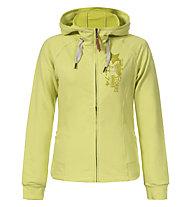 Torstai Philippa Damen-Kapuzenjacke, Yellow