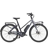 Trek District+ 2 Stagger (2020) - citybike elettrica, Grey