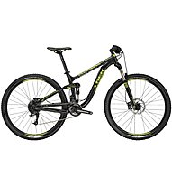 Trek Fuel EX 5 29, Black Titanite/Volt Green