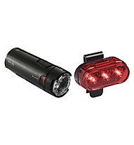 Bontrager lon 35/Flare Beleuchtungsset, Black/Red