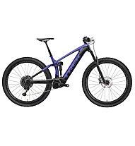 Trek Rail 5 SX (2021) - bici enduro elettrica, Violet/Black