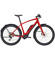 Trek Super Commuter 8+ (2017) E-Citybike, Viper Red