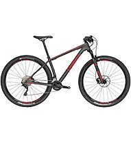 Trek Superfly 9.6 (2016), Matte Carbon Smoke/Viper Red