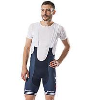 Trek Santini Trek-Segafredo Men's Team Replica - pantaloncino bici - uomo, Blue