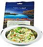 Trek'n Eat Chilli-Kartoffelpüree mit Gemüse und Hanf-Crispies, Vegetarian Dish