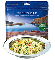Trek'n Eat Pasta Primavera - Cibo per il trekking, Vegetarian Dish