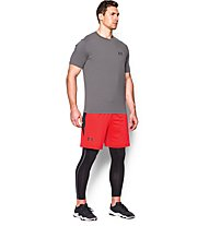 Under Armour Raid International Short 8'' pantaloncini ginnastica, Red/Blue