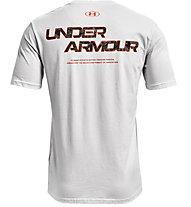 Under Armour ABC Camo Fill Wordmark - t-shirt fitness - uomo, Gray