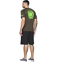 Under Armour Alter Ego Avengers Hulk T-Shirt, Marine Od Green