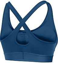 Under Armour Armour Crossback Mid Reggiseno Sportivo fitness donna, Blue Heroin