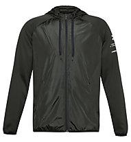 Under Armour Armour Fleece Storm Full Zip Hoodie - giacca con cappuccio - uomo, Dark Green