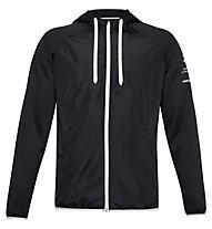 Under Armour Armour Fleece Storm Full Zip Hoodie - giacca con cappuccio - uomo, Black