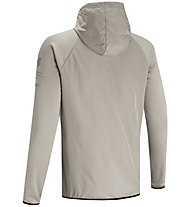 Under Armour Armour Fleece Storm Full Zip Hoodie - giacca con cappuccio - uomo, Brown