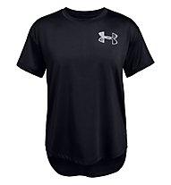 Under Armour Armour HeatGear - T-Shirt - Mädchen, Black