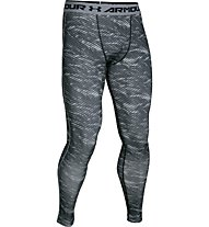 Under Armour Head Gear Leggings pantaloni aderenti da palestra, Black/Print