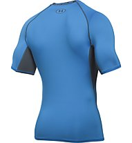 Under Armour Armour HG SS T-Shirt fitness, Brilliant Blue