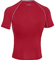 Under Armour Armour HG SS T-Shirt fitness, Red