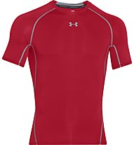 Under Armour HeadGear Kompressionsshirt Herren, Red