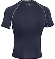 Under Armour Armour HG SS T-Shirt fitness, Midnight Navy
