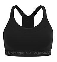 Under Armour Armour High Crossback - Sport-BH - Damen, Black