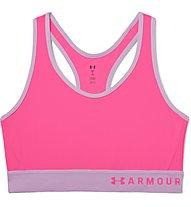 Under Armour Mid Keyhole - Sport BH mittlerer Halt - Damen, Pink