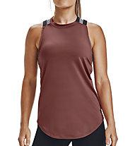 Under Armour Armour Sport 2-Strap - Trainingsshirt - Damen, Dark Red