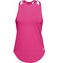 Under Armour Armour Sport 2-Strap - Trainingsshirt - Damen, Pink