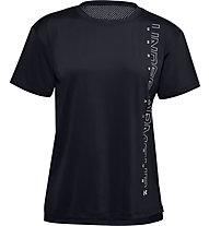 Under Armour Armour Sport Graphic - Trainingsshirt - Damen, Black