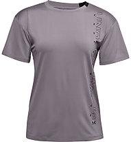 Under Armour Armour Sport Graphic - Trainingsshirt - Damen, Dark Violet