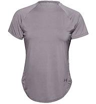 Under Armour Armour Sport HI-LO - T-shirt fitness - donna, Violet