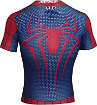 Under Armour Kompressionsshirt Spiderman, Red