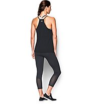 Under Armour Asym Tech Tank Top donna, Black